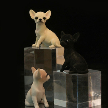 Mr.Z-modelo de Animal en miniatura de PVC para Chihuahua, modelo de Juguete...