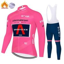 Pants Bike-Clothing Cycling-Set Grenadier Mallot-Ciclismo Ineos Outdoor Winter Fleece