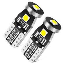 2x T10 W5W 194 bombillas LED luces interiores para automóvil accesorios para jeep cherokee wrangler brújula fiat 500 dodge ram Chrysler 300 c