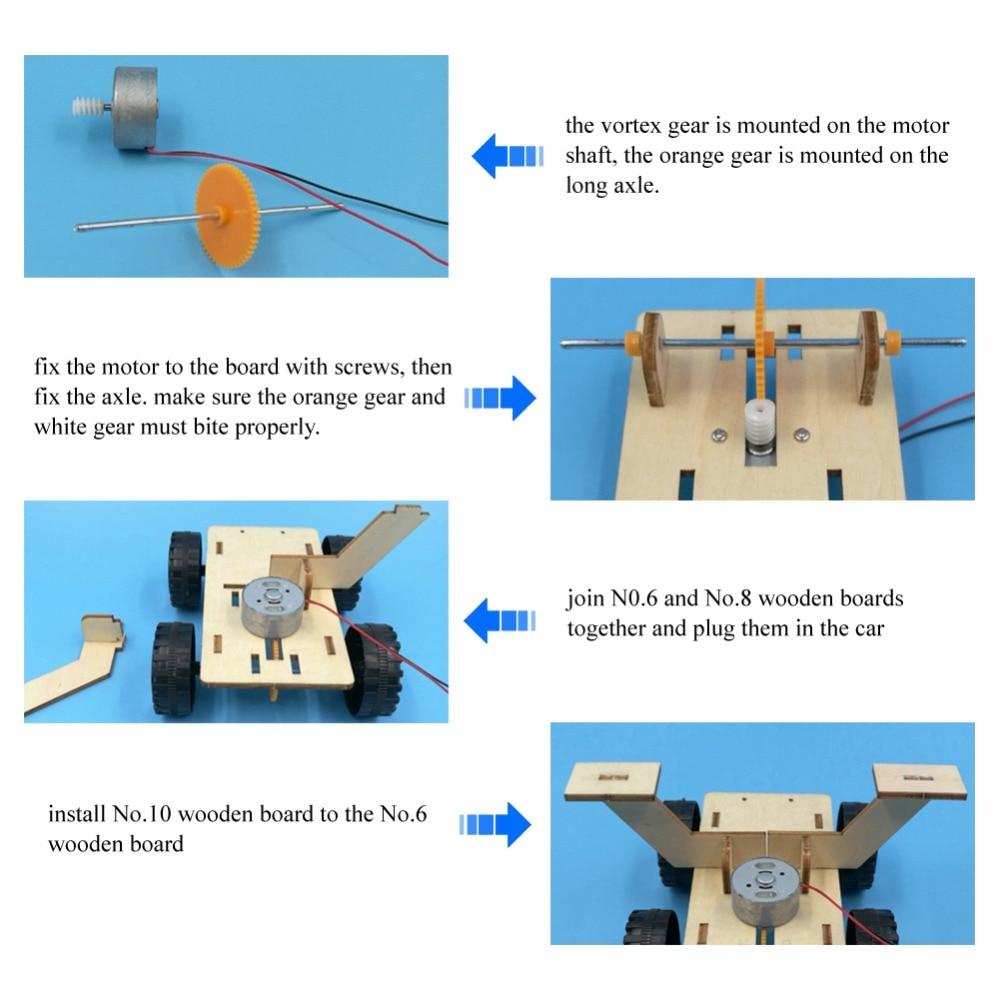 modelo científico experimento crianças brinquedo diy
