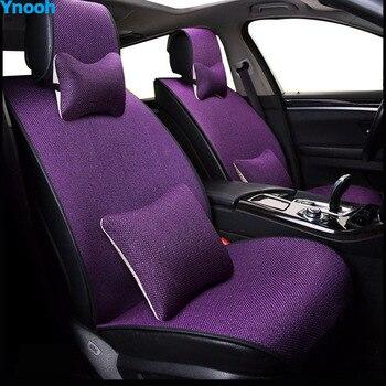 Ynooh Car seat covers For renault logan 2 duster logan laguna 2 espace car protector