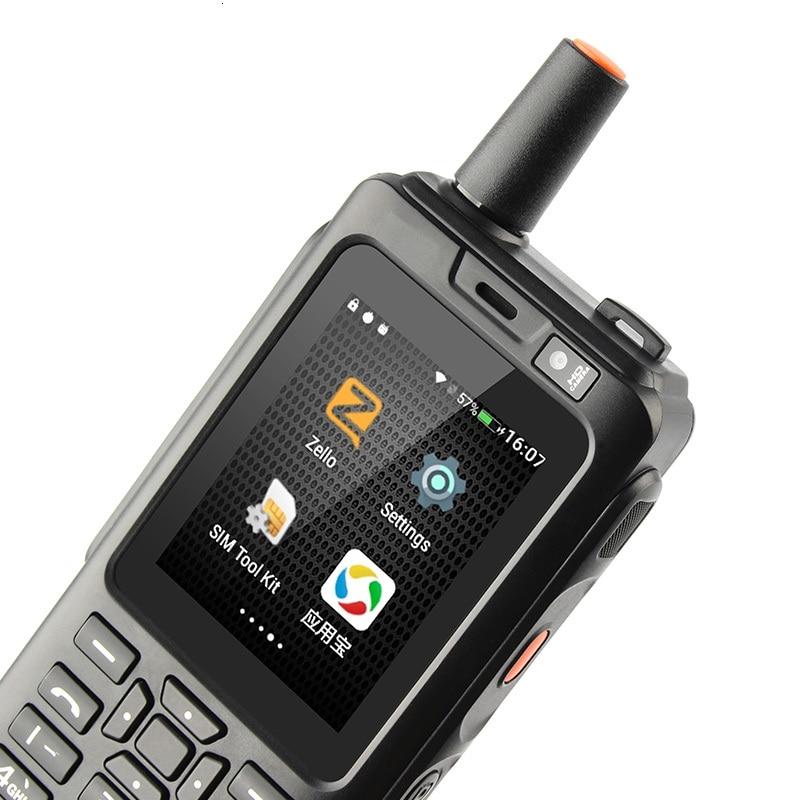 Ударопрочный мобильный телефон 4000 мАч Zello Walkie Talkie 4G gps прочный смартфон Android 6,0 quad core Dual SIM F40 мобильный телефон - 4