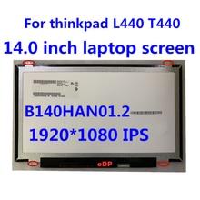 Оригинальный экран ноутбука 14 дюймов b140han012 lp140wf1 spb1