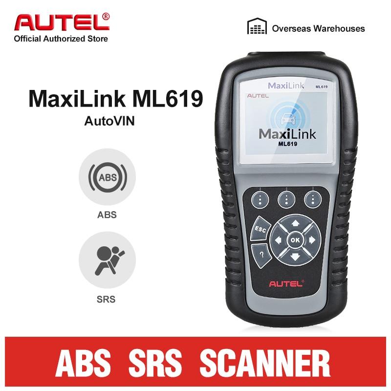 Autel Maxidiag MD805 Auto Diagnostic Tool OBD2 Car Code Reader Scanner ABS SRS