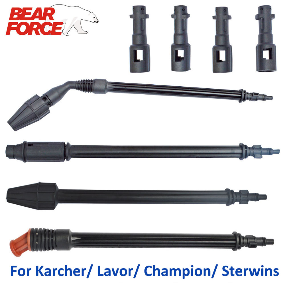 Car Washer Jet Lance Nozzle Tip Water Spray Wand Rotating Turbo Adjustable Fan For Karcher Champion Lavor High Pressure Washers