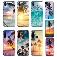 MaiYaCa Summer Beach coconut Palm tree black Phone Case Hull For Xiaomi Redmi Note8T 7 9 Pro 5A Redmi4X 5A 6A 6 7 8 5Plus(China)