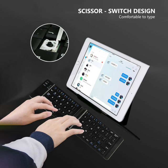 Folding Keyboard Wireless  2