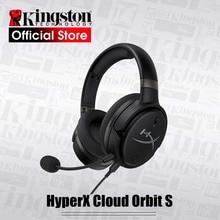 Kingston hyperx cloud orbit s 게임용 헤드셋 3d 오디오 기술 전자 스포츠 헤드셋, pc 용 초정밀 사운드 현지화
