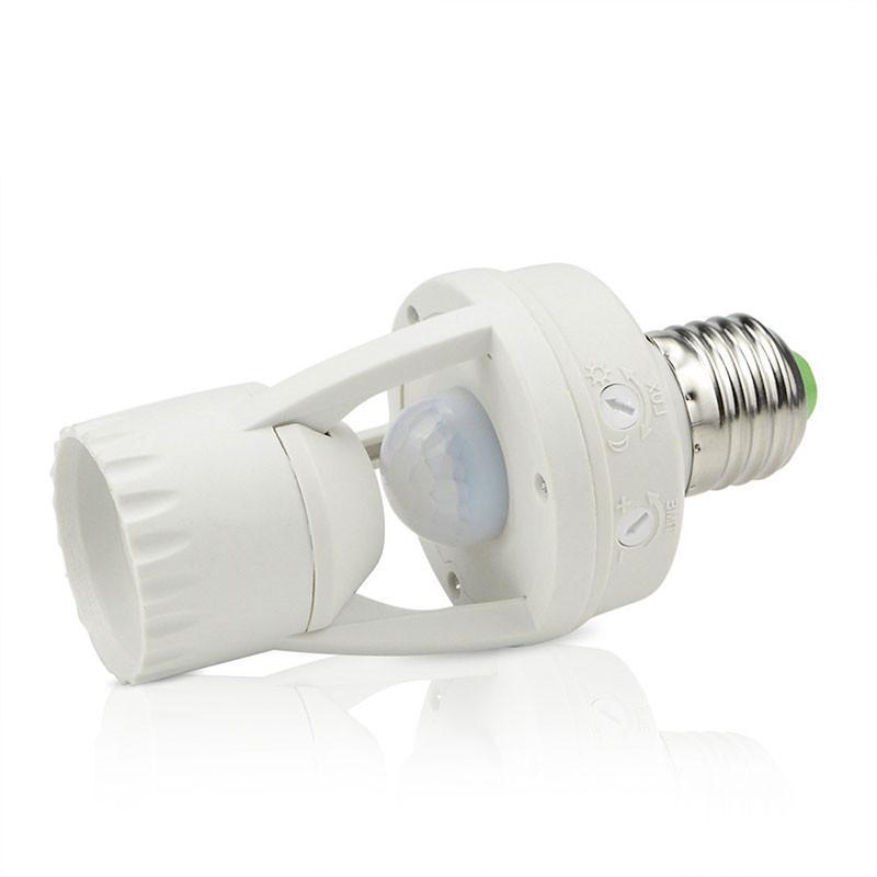 Высокая чувствительность PIR датчик движения человеческого тела светодиодный светильник с переключателем управления лампа гнездо подходит...