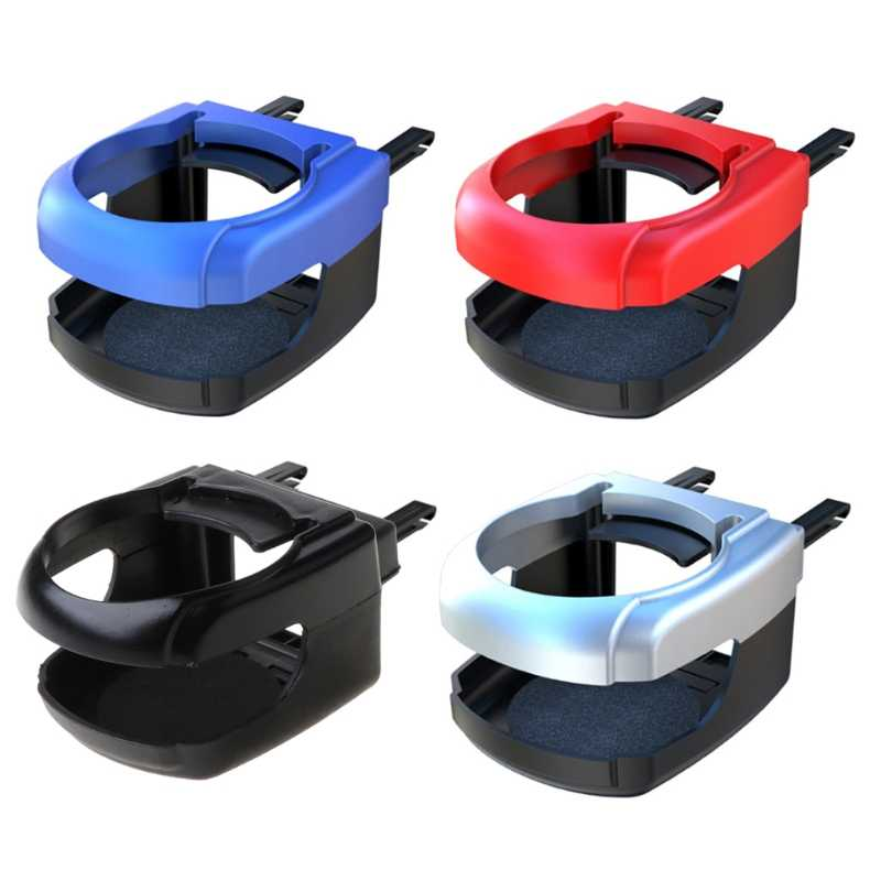 Car Front Seat Cup Bottle Drinking Dual Holder Stand Mount No Spill Driving