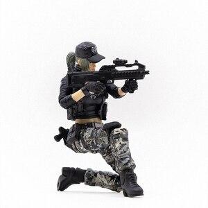 Image 5 - JOYTOY 1/18 action figure frauen soldat in spiel Cross Fire (CF) anime weibliche zahlen Kostenloser versand