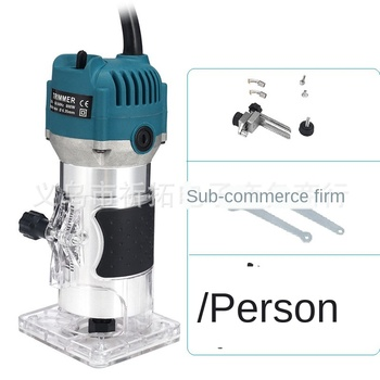 110V800WWoodworking Electric Edge Trimmer Wood Milling Groove Trimming Machine Manual Engraving - discount item  71% OFF Woodworking Machinery