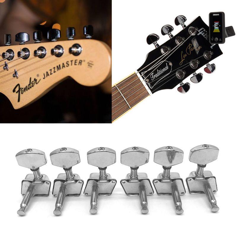 6 шт. L/R головка для акустической гитары, ручки для фольклорной струны гитары, колышки для тюнера, оптовая продажа, Прямая поставка