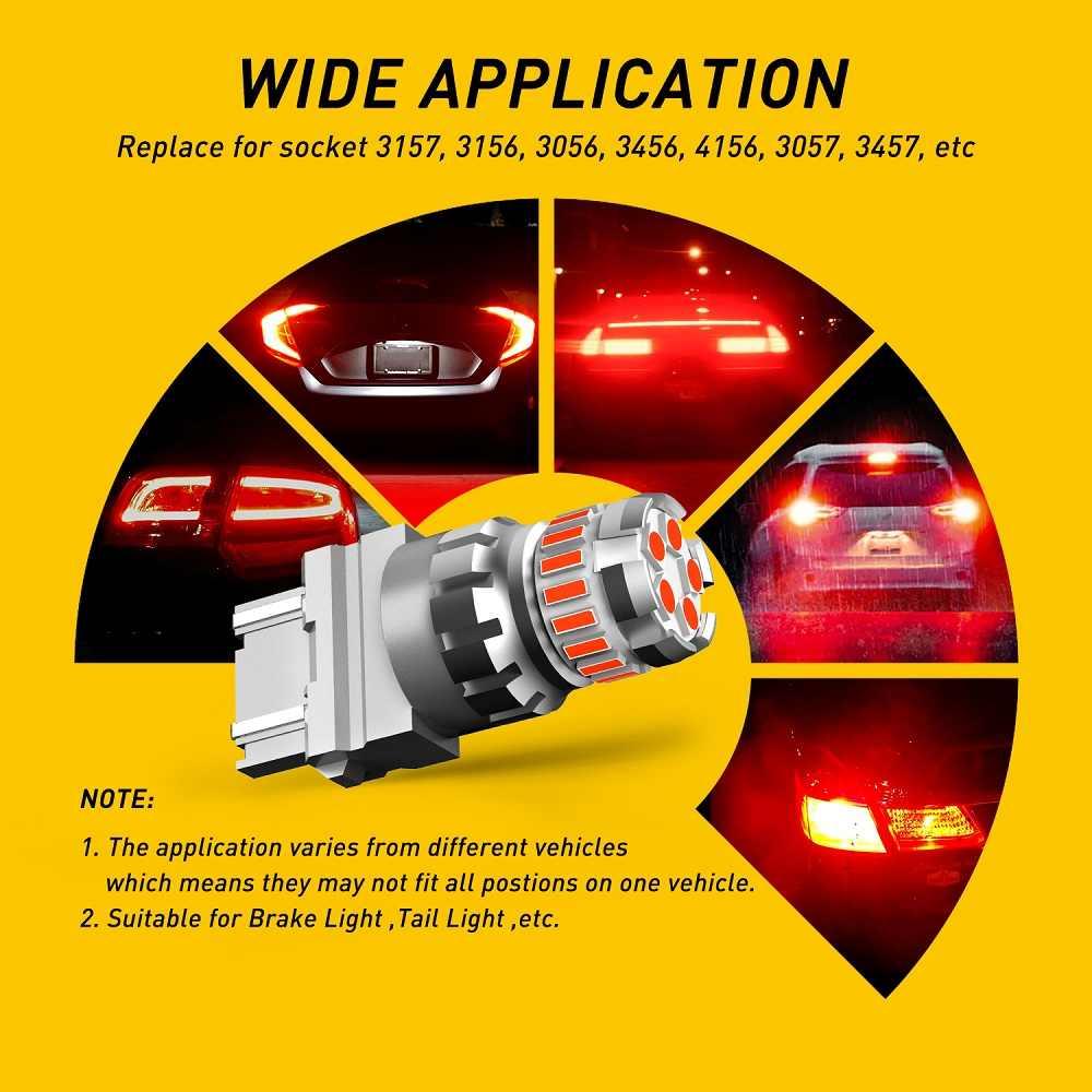 2x W21W T20 7443 7440 WY21W Led Canbus Rood Strobe Flash Auto Brake Achterlicht Voor Honda CR-V Crv NC750X 2019 Hrv Streamen Forza 125
