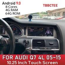 Android 9,0 8 core 4 + 64G Für Audi Q7 4L 2005 ~ 2015 GPS Navigation Auto Multimedia Player MMI 2G 3G Radio kopf einheit dvd stereo wifi