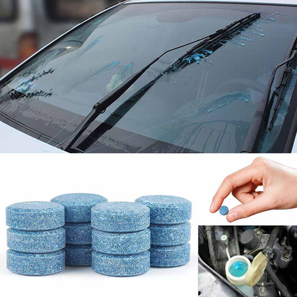 Car Care Windscreen Window Glass Concentrated Wash Cleaner Tab Accessory