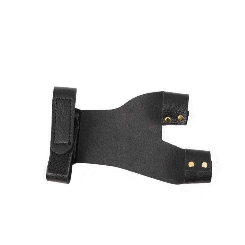 1pc 左手使用アーチェリー保護ギアハンドガード安全弓撮影ハンドプロテクター実用左手アーチェリーグローブ