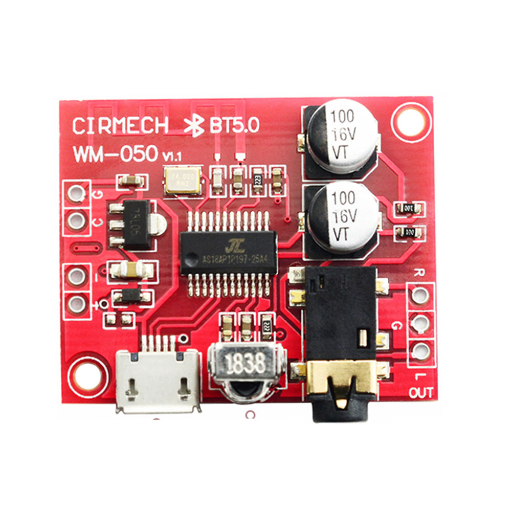 Modified Decoder Board Amplifier Circuit Lossless Receiver Module Audio Bluetooth 5.0 Mini Car Speaker Accessories Stereo MP3