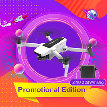 Original Hubsan Zino 2 2B With Bag RC Quadcopter Drones LEAS 2.0 Drone GPS 8KM 5G WiFi FPV with 4K 60fps HD Camera 3-axis Gimbal