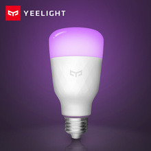 [İngilizce Sürüm] Yeelight akıllı led ampül Renkli 800 Lümen 10W E27 Limon Akıllı Lamba Mi Ev App Için Beyaz /RGB Seçeneği