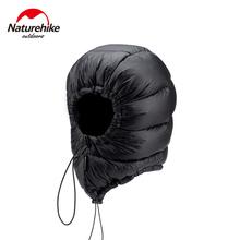 Naturehike 750FP puch gęsi kapelusz dla Unisex odkryty Camping piesze wycieczki czapki kaptur Ultralight kopertowy śpiwór akcesoria Winder tanie tanio CN (pochodzenie) WOMEN NH20FS026 90 Goose Down 20D 400T Polyamide Fiber