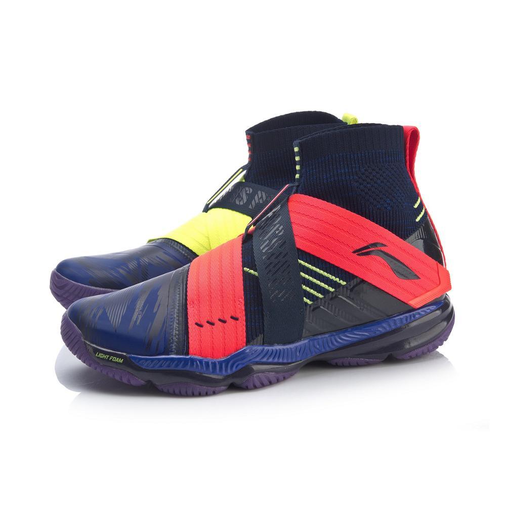Li-Ning, Мужская профессиональная обувь для бадминтона RANGER 4,0, подстилка, светильник, подкладка из пены, li ning Cloud, спортивная обувь, кроссовки AYAP015 XYY135-4
