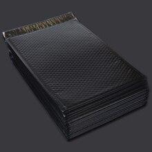 Bubble Buffer Drop Protection Bag Co-Extrusion Film Bubble Bag Express Packaging Envelope Foam Bag Black 60Pcs 15x20Cm+4Cm