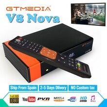 Spain GTMedia V8 NOVA Satellite Receiver Built-in WiFi 1Years Europe Cccam Cline Full HD DVB-S2 / S Freesat v8 Receptor GT Media