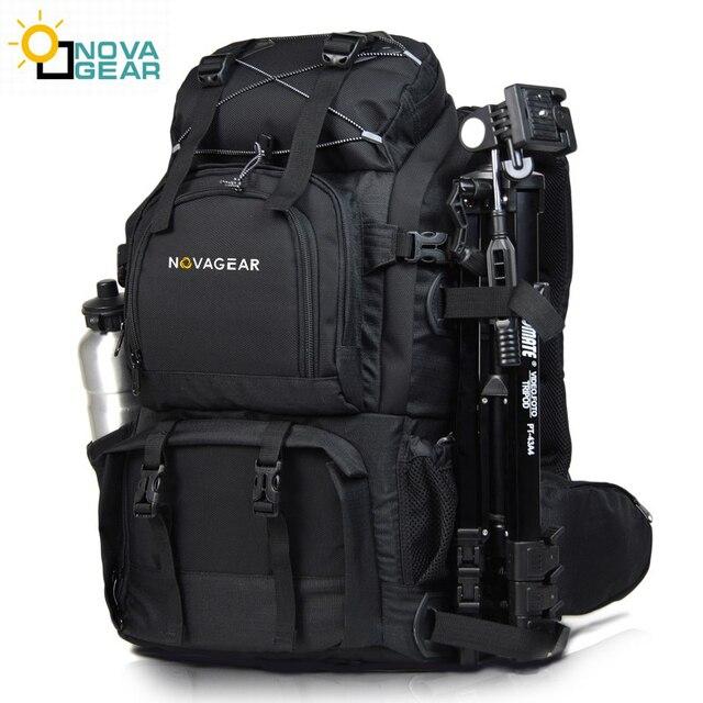 Сумка NOVAGEAR 80302 на два плеча для камеры, водонепроницаемая ударопрочная уличная сумка большой емкости для SLR камеры, подходит для 17 дюймового ноутбука