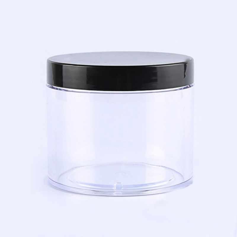 6/12/24 pcs 50ml Refillable Face ครีม Jar เครื่องสำอางค์คอนเทนเนอร์พลาสติกจัดเก็บขวดฝาครอบ