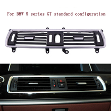 цена на Car Styling Air Conditioning Vent frame cover Stickers trim Air outlet Center console Air conditioning panel for BMW 5 series GT