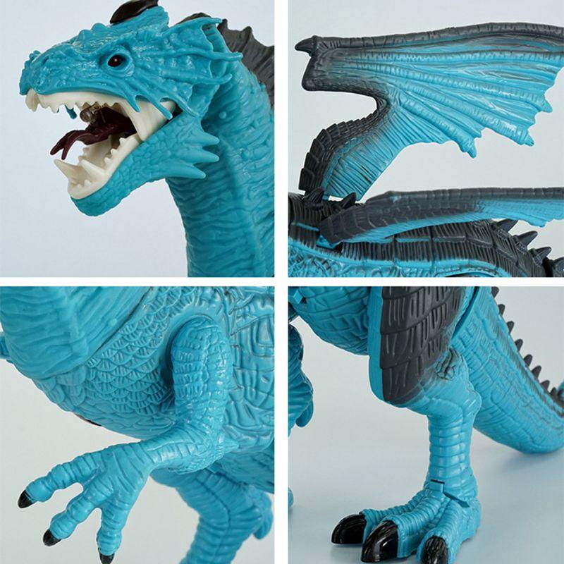 controle remoto brinquedo de dinossauro com caminhada simulado rugido spray xxfe