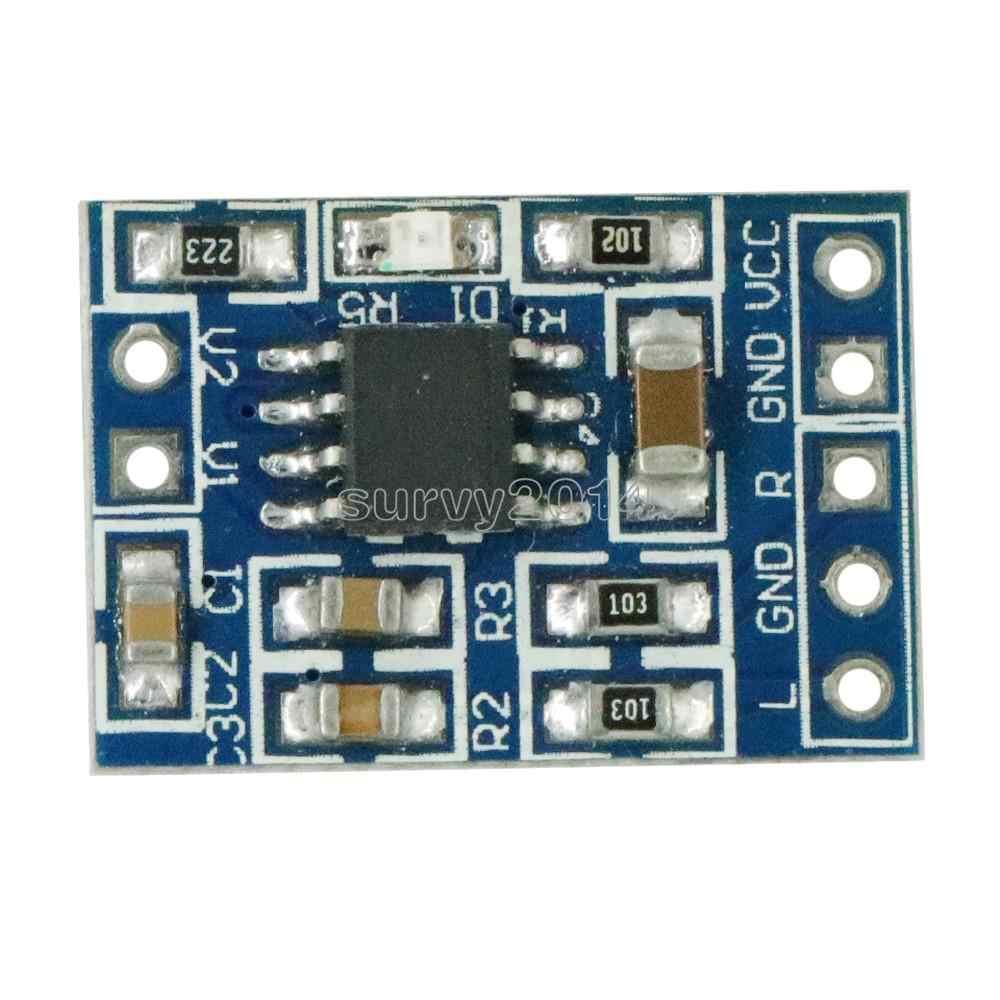 وحدة مكبر صوت صغيرة طراز HXJ8002 لاستبدال مكبر الصوت PAM8403