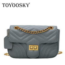 TOYOOSKY Chain Shoulder Bags for Women 2019 Luxury Handbags Designer Famous Brands Ladies Leather Messenger Bag Sac A Main
