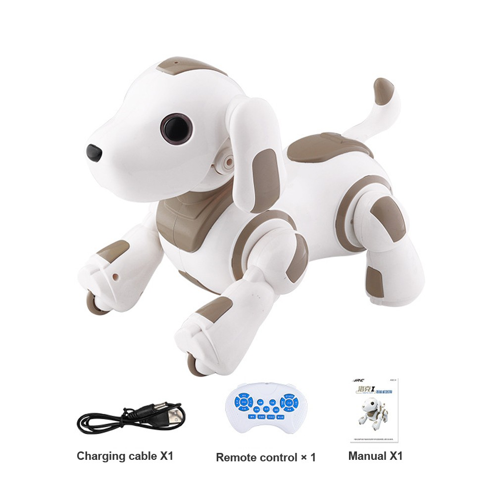 SHAREFUNBAY Rc Robot Intelligent Robot Dog Multifunction Dancing Music Programmable Rc Toy Smart Robot Kid Toy