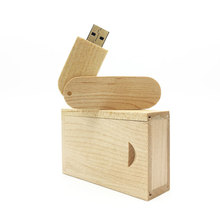 new design usb flash drive 128GB U-shaped pen drive 64gb key wooden box pendrive 32gb usb memory stick 4gb 8GB 16GB custom LOGO цена