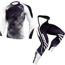 2020Men Gym Compression Leggings Sports Training Pants Men Running Trousers Men Sportswear Dry Fit Jogging Pants Ropa Deportiva