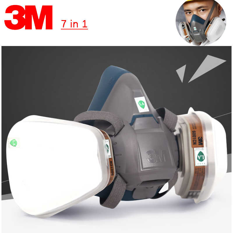 3m 6502 half mask respirator medium rugged comfort