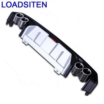 Buitenkant Bewerkt Decoratieve Decoratie Styling Accessoires Tuning Auto Voor Achter Diffuser Lip Bumpers 16 17 18 VOOR Honda Civic