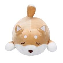 Cute Fat Shiba Inu Dog Plush Toy Stuffed Soft Kawaii Animal Dolls Cartoon Pillow Lovely Gift For Kids Baby Children High Quality