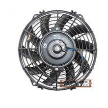 Вентилятор охлаждения автомобильного кондиционера, 8,9, 10,12, 14 дюймов, 80 Вт 12 В/24 В, электронный вентилятор кондиционера 8, 9, 10, 12, 14 дюймов