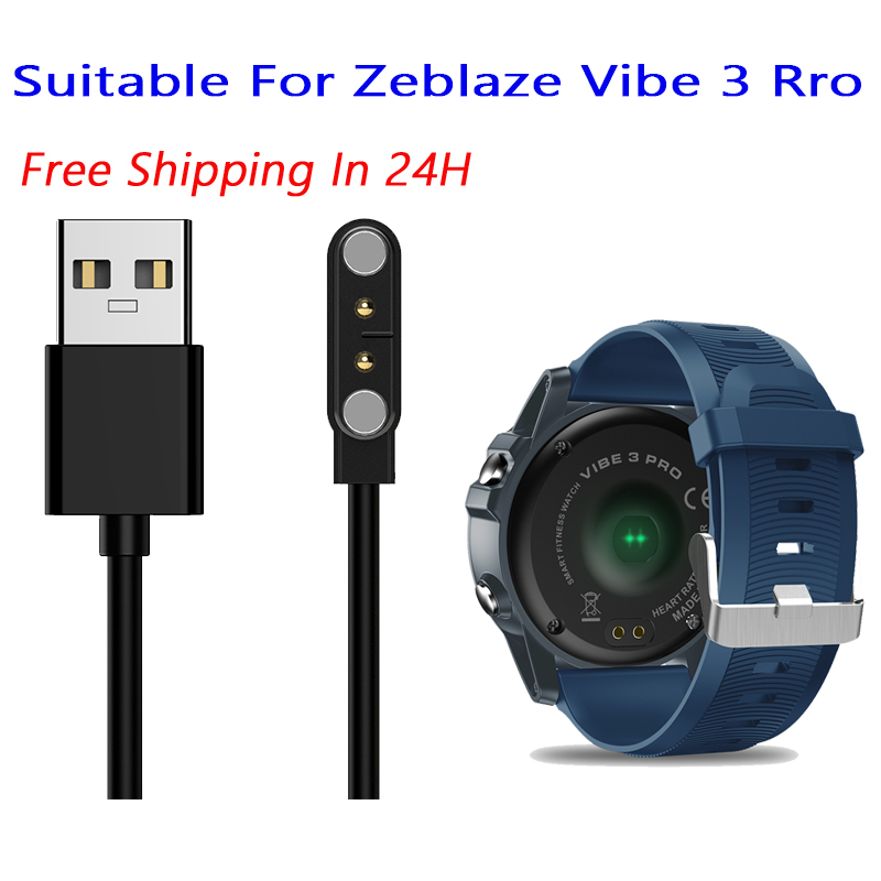 Free 12 Hours Ship Out Zeblaze Thor 4pro Smart Watch Accessory Backup 4Pin Magnetic Charging Cable For Thor 4 Pro Charging Line