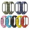 Применимый браслет Millet 4 браслет 4 спортивный браслет пористый дышащий сменный ремешок дышащий для Mi Band