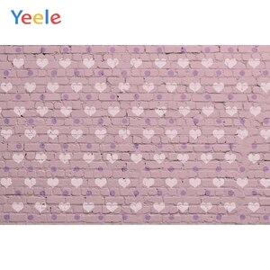 Image 2 - Fondos fotográficos personalizados de pared de ladrillo azul Yeele para sesión de fotos de bebés