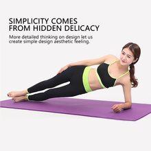 6mm nbr yoga esteira pilates exercício esportes esteiras gmy fitness gym ambiental insípido almofada