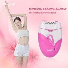 Female Epilator Bikini Trimmer Hair-Removal Legs Electric Rechargeable Body Ckeyin Ce