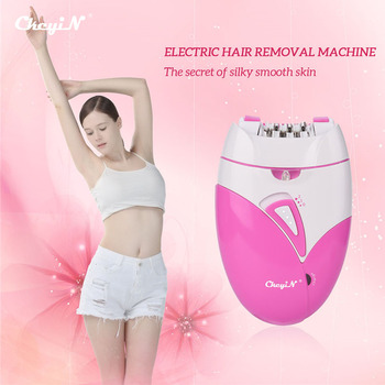 CkeyiN Rechargeable Women Epilator Electric Female Epilator for Face Remover Hair Removal Bikini Trimmer Legs Body Depilatory 2017 hot sale ladies rechargeable cordless electric tweezers body facial hair removal remover epilator trimmer