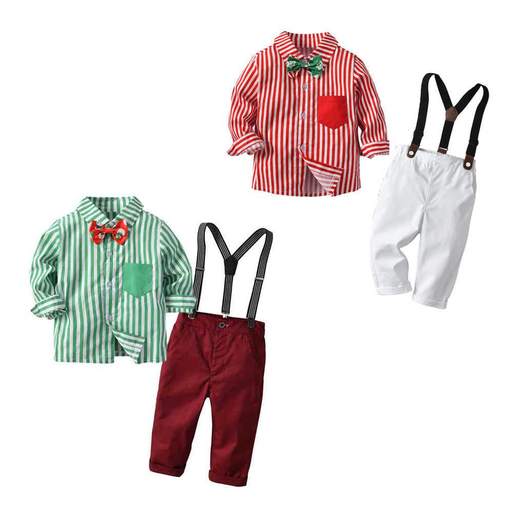 新ボーイズクリスマススーツ子供ジャケットブレザー男の子衣装ベビー結婚式のためにスーツ正式なセット少年の上着幼児服