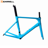2days shipping customized 2019new carbon road frame carbon fibre racing bicycle frame glossy matte bb86 for DI2 Mechanical frame