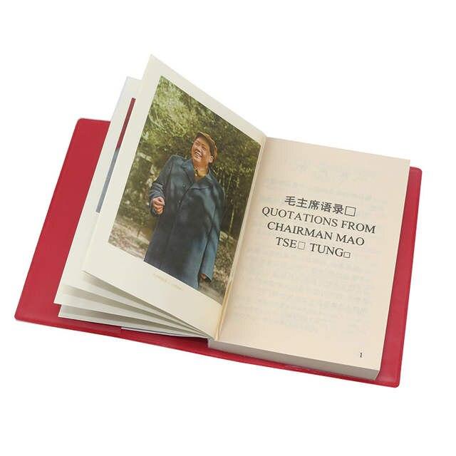 Us 6 59 34 Off Die Zitate Aus Vorsitzender Mao Tse Tung Die Kleine Rote Buch Chinesisch Englisch Bücher Für Erwachsene In Bücher Aus Büro Und